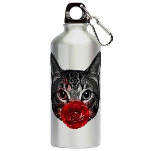 Squeeze Gato Rosa Vermelha