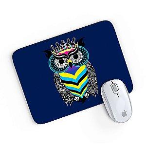 Mouse Pad A Arte da Coruja Azul 24x20