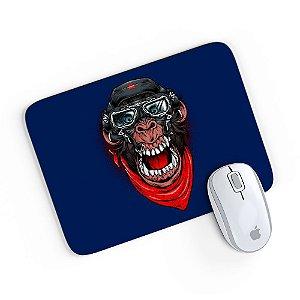 Mouse Pad A Aventura do Macaco Mau Azul 24x20