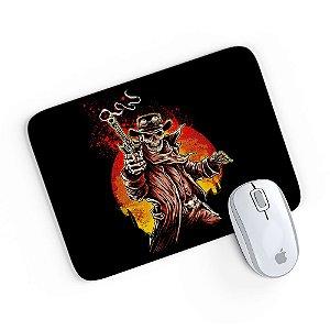 Mouse Pad A Caveira Matadora Preto 24x20
