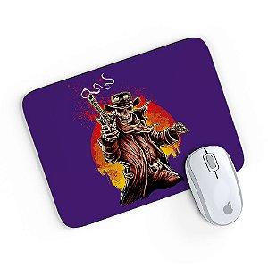 Mouse Pad A Caveira Matadora Roxo 24x20