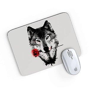 Mouse Pad A Rosa do Lobo 24x20