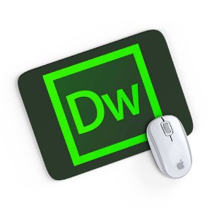 Mouse Pad Adobe Dreamweaver 24x20