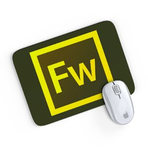 Mouse Pad Adobe Fireworks 24x20