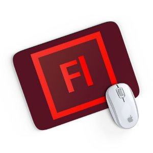 Mouse Pad Adobe Flash 24x20