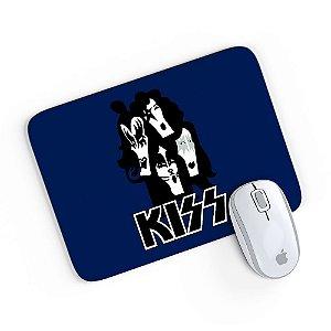 Mouse Pad Banda Kiss 01 Azul 24x20