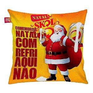 Almofada Natal Skol 03 35x35cm