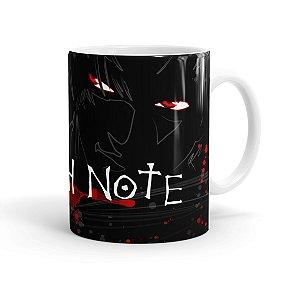 Caneca Death Note 01 Branca
