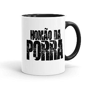 Caneca Porcelana Homão da Porra Preta