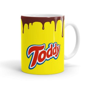 Caneca Porcelana Toddy Branca