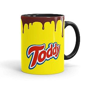 Caneca Porcelana Toddy Preta