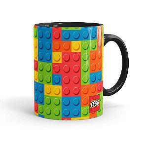 Caneca Porcelana Lego 01 Preta
