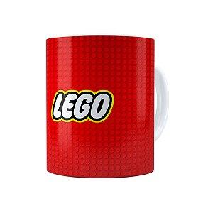 Caneca Porcelana Lego 03 Branca