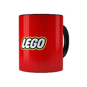 Caneca Porcelana Lego 03 Preta
