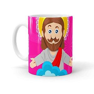 Caneca Páscoa O Verdadeiro Significado é Jesus 03 Branca