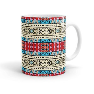 Caneca Porcelana Decorativa Home Decor 05 Branca