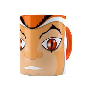 Caneca Porcelana Thundercats Willy Kit Laranja