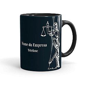 Caneca Personalizada Direito 02 Preta