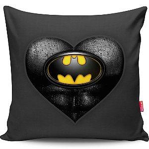 Almofada Coração de Herói Batman 40x40cm