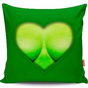 Almofada Coração de Herói Hulk Girl 40x40cm