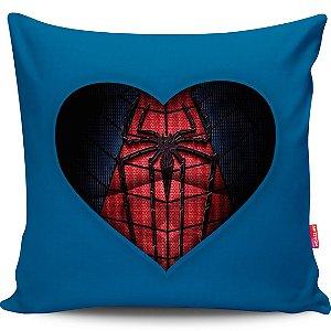 Almofada Coração de Herói Homem-Aranha 01 40x40cm
