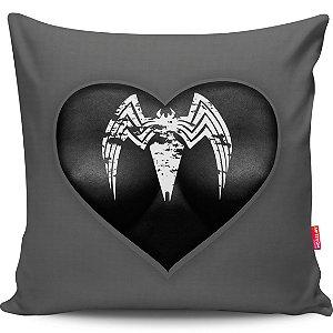 Almofada Coração de Herói Homem-Aranha Girl 40x40cm