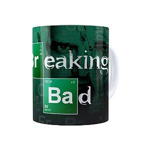 Caneca Porcelana Breaking Bad 04 Branca
