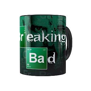 Caneca Porcelana Breaking Bad 04 Preta