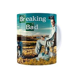 Caneca Porcelana Breaking Bad 05 Branca