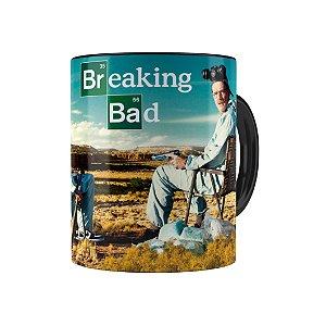 Caneca Porcelana Breaking Bad 05 Preta