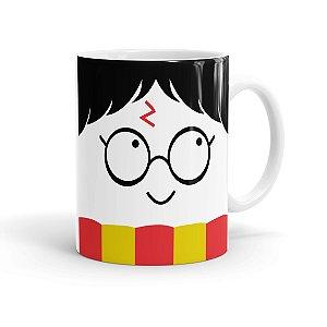 Caneca Porcelana Harry Potter Todos Temos Luz Branca