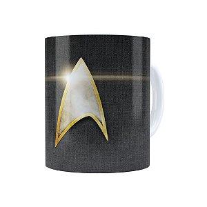 Caneca Porcelana Star Trek 02 Branca