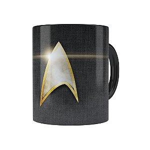 Caneca Porcelana Star Trek 02 Preta