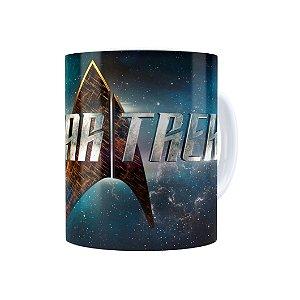 Caneca Porcelana Star Trek Series Branca