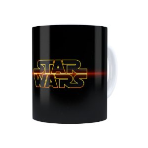 Caneca Porcelana Star Wars 02 Branca