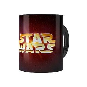 Caneca Porcelana Star Wars 03 Preta