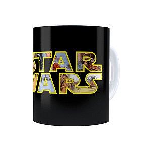 Caneca Porcelana Star Wars 04 Branca