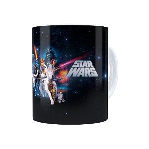 Caneca Porcelana Star Wars 05 Branca