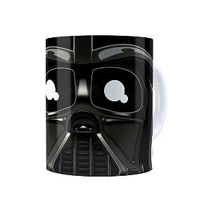 Caneca Porcelana Star Wars Darth Vader 02 Branca