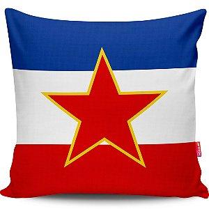 Almofada Bandeira da Iugoslávia