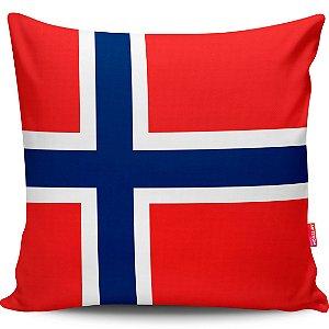Almofada Bandeira da Noruega
