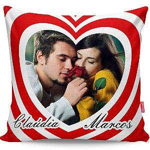 Almofada Personalizada Namoro com Nome e Foto v01