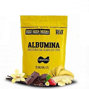 ALBUMINA SABORES - Naturovos | 500 gramas