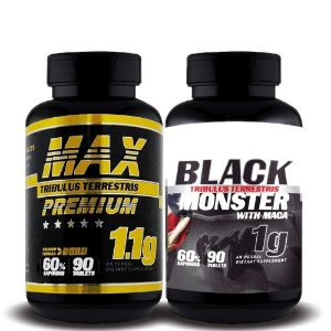COMBO MAX MONSTER - Super Nutrition Supplements | 2 Itens