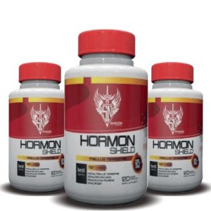KIT 3 TRIBULUS TERRESTRIS HORMON SHIELD 1500mg - Shadow Nutrition | 3x 120 cápsulas