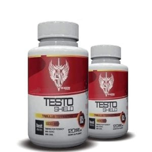 KIT 2 TRIBULUS TERRESTRIS TESTO SHIELD 1500mg - Shadow Nutrition | 2x 120 cápsulas