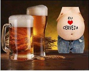 Avental Eu Amo Cerveja