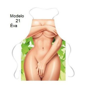 Avental Divertido Eva