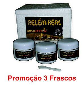 PROMOÇÃO 3 Geleia Real In Natura 15g