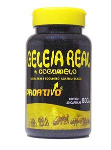 Geleia Real Liofilizada + Cogumelo do Sol - 60 Capsulas